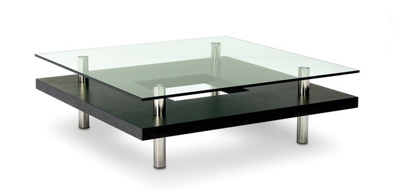 modern glass coffee tables under $200