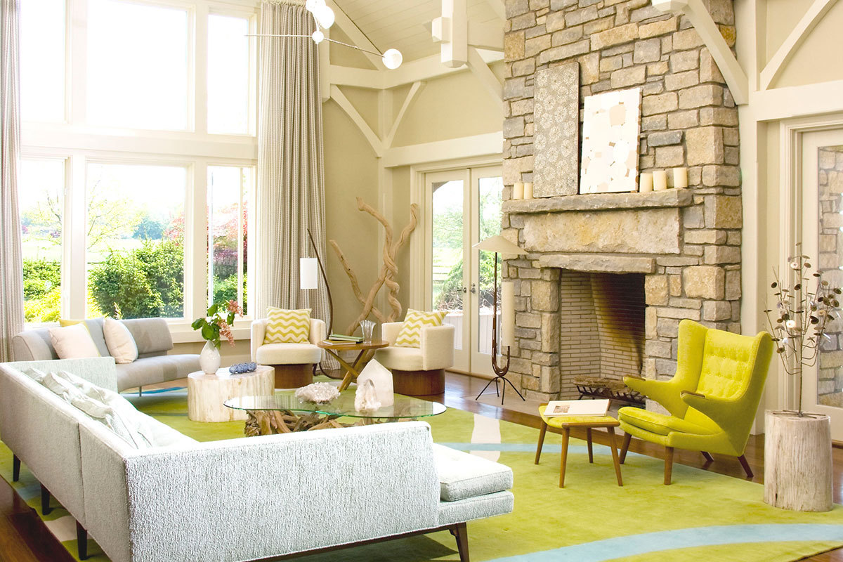 modern interior design for living rooms yellow luxury carpet ideas