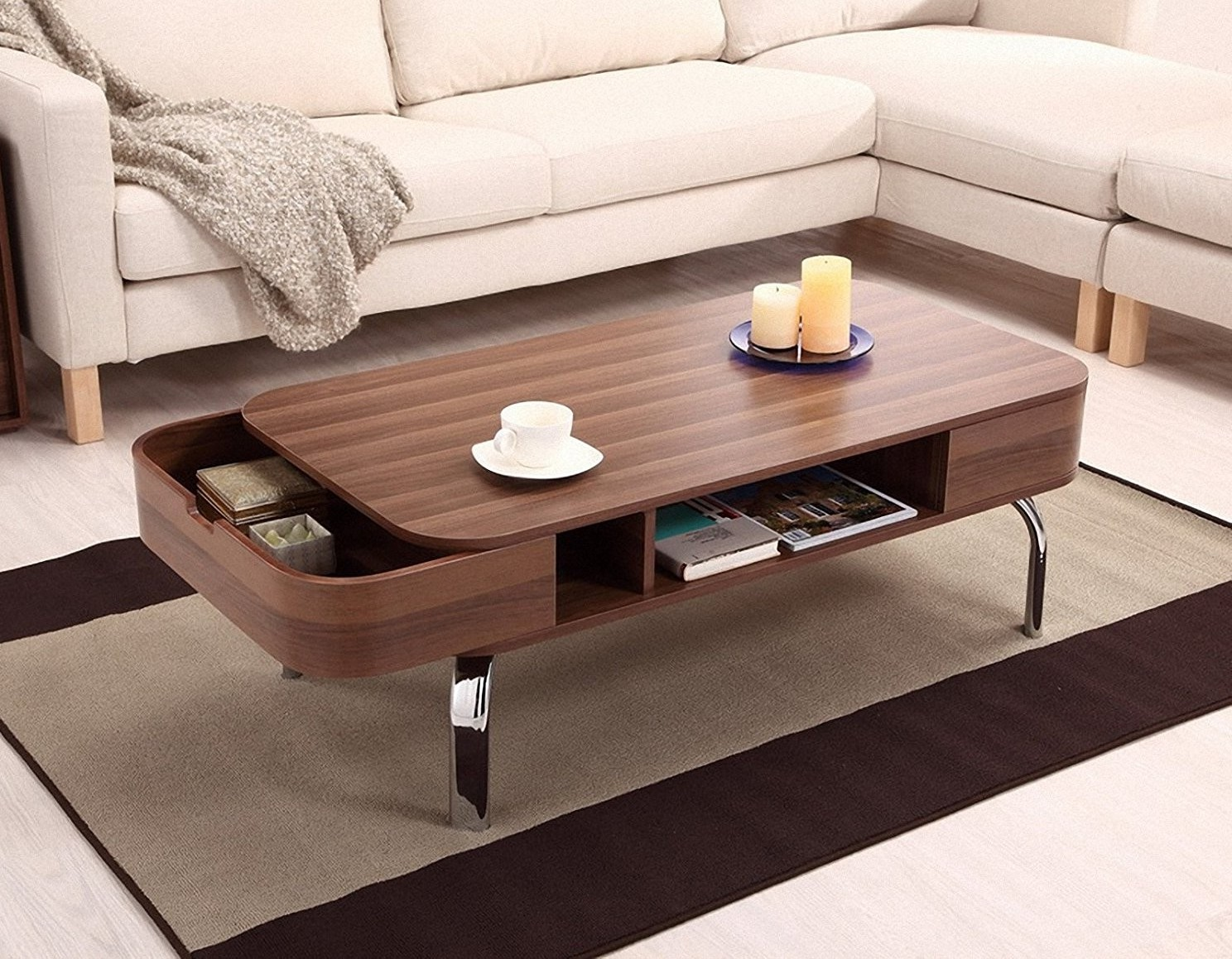 modern square coffee tables under $200