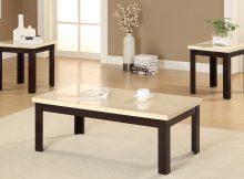 modern white coffee tables under $200