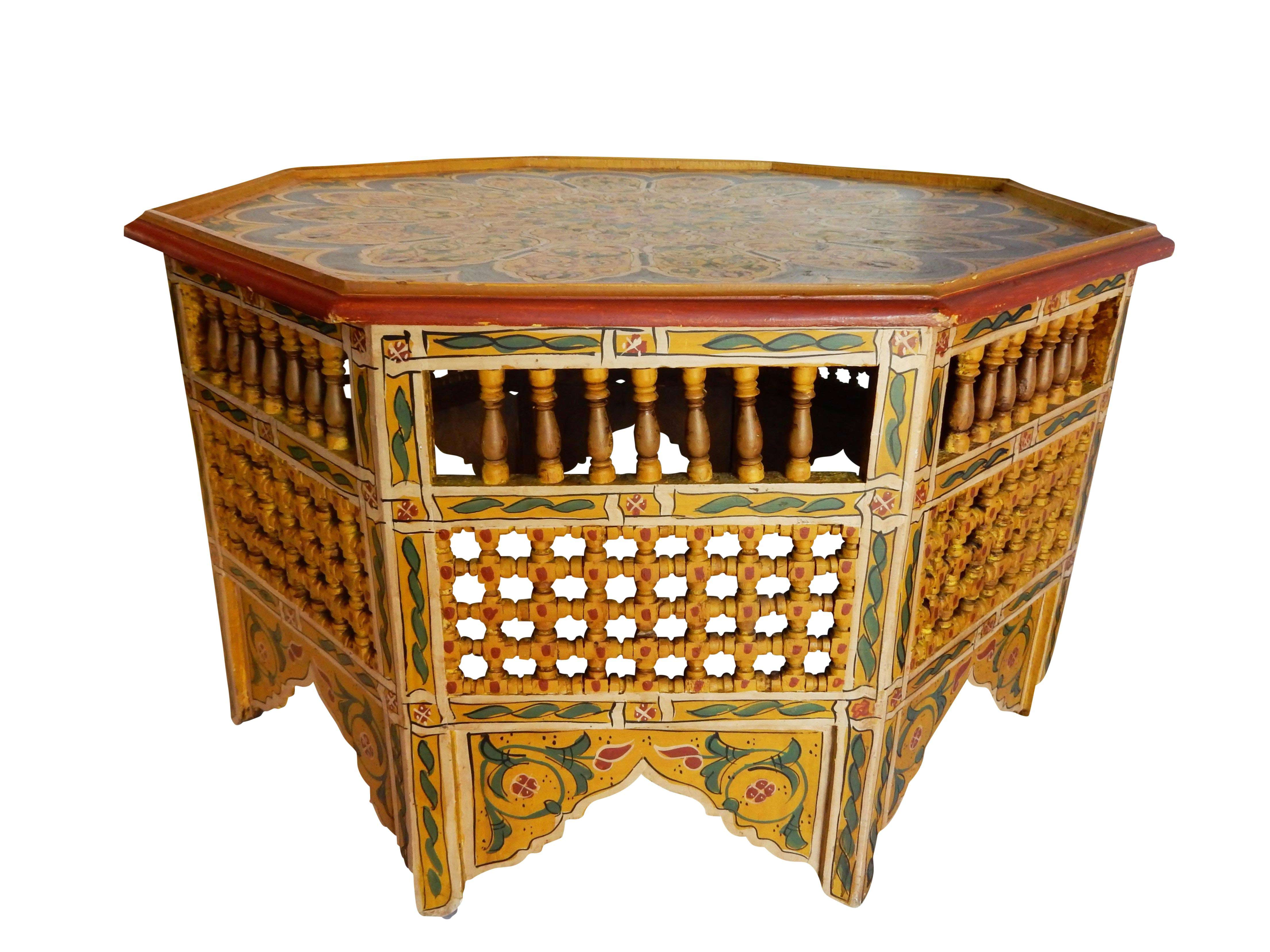 moroccan style coffee table 02