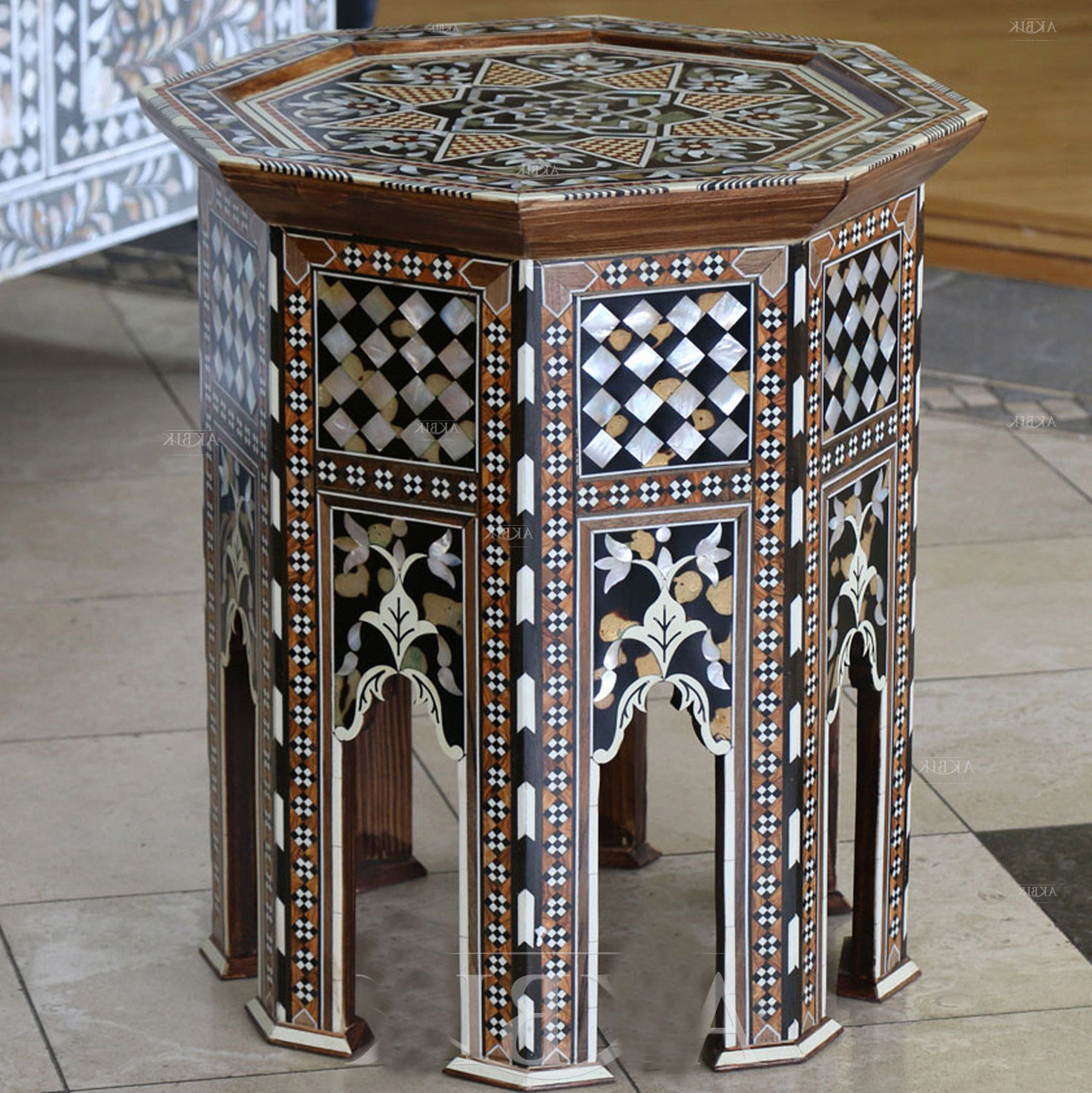 moroccan style coffee table 11