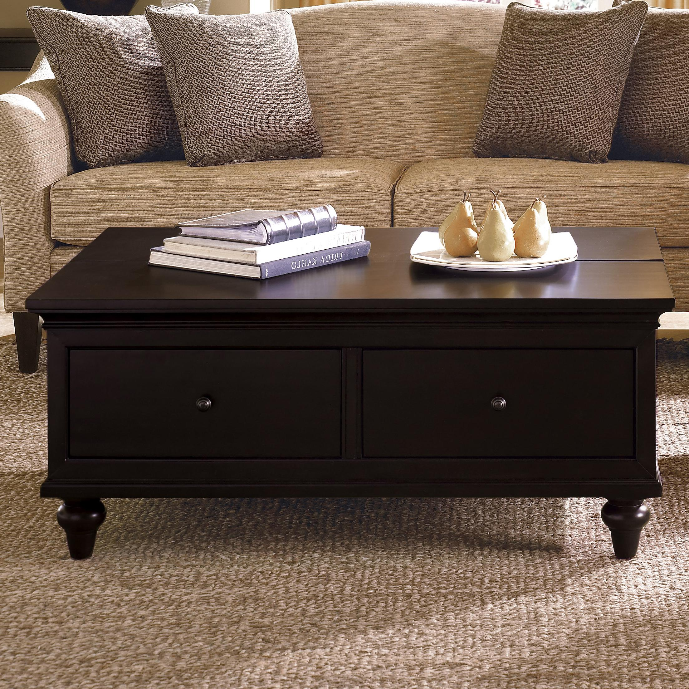 narrow coffee table with storage 08