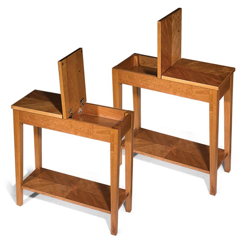 narrow coffee table with storage 14