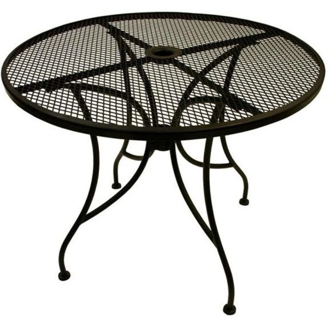 outdoor coffee table with umbrella hole 13