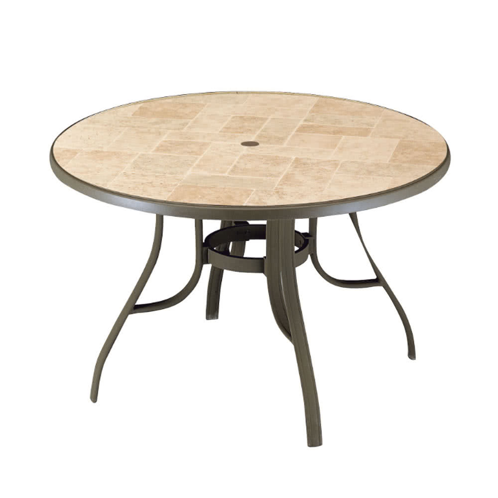 outdoor coffee table with umbrella hole 14