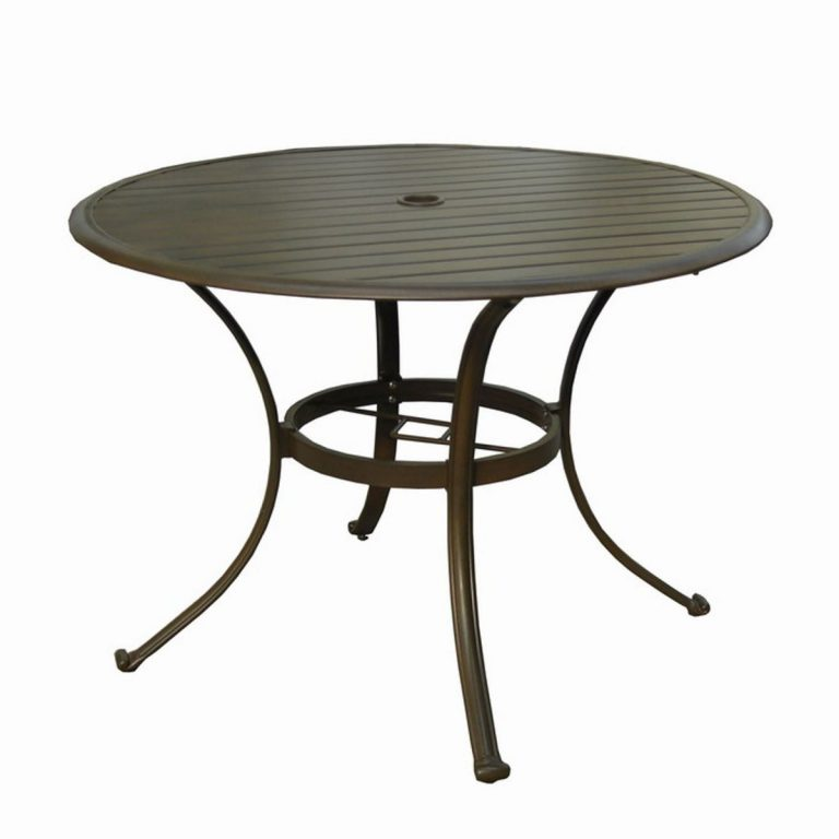 Outdoor Coffee Table With Umbrella Hole 18 Roy Home Design