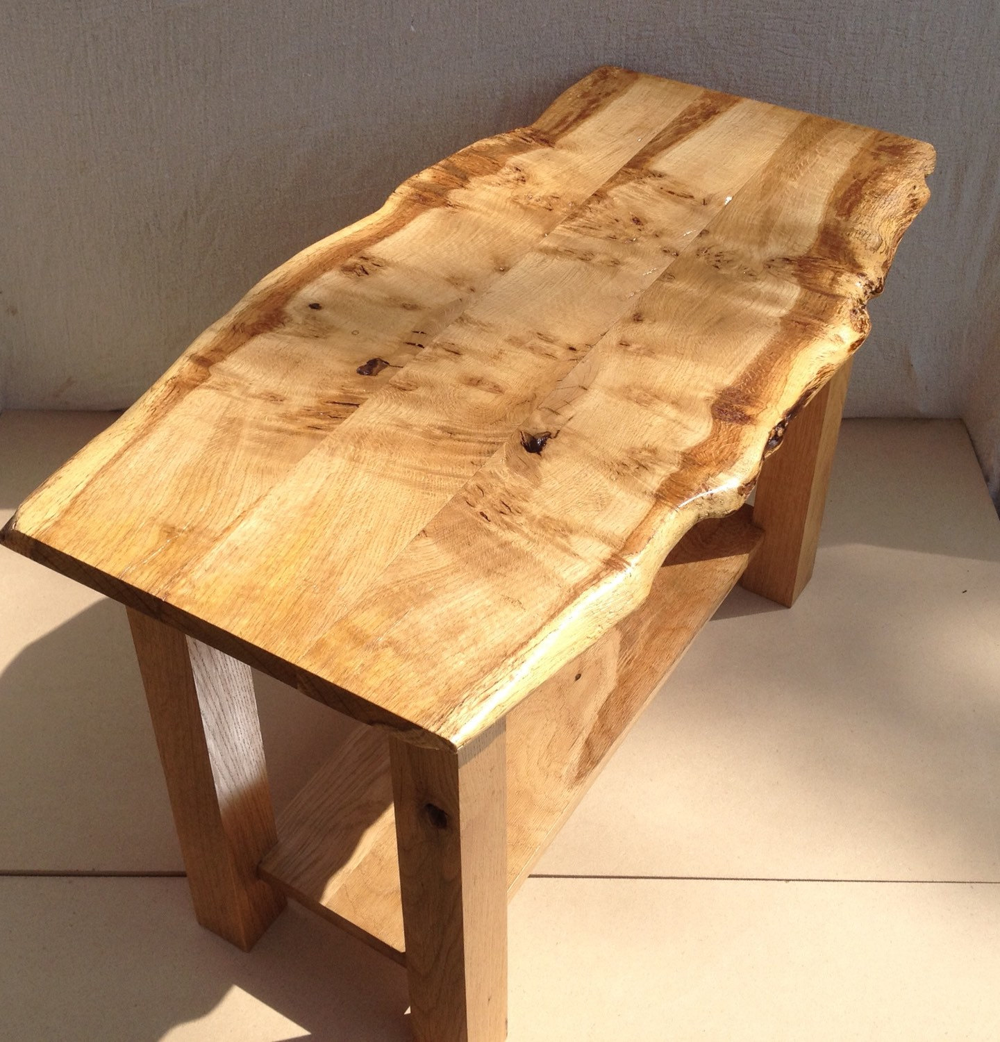 raw edge coffee table 13