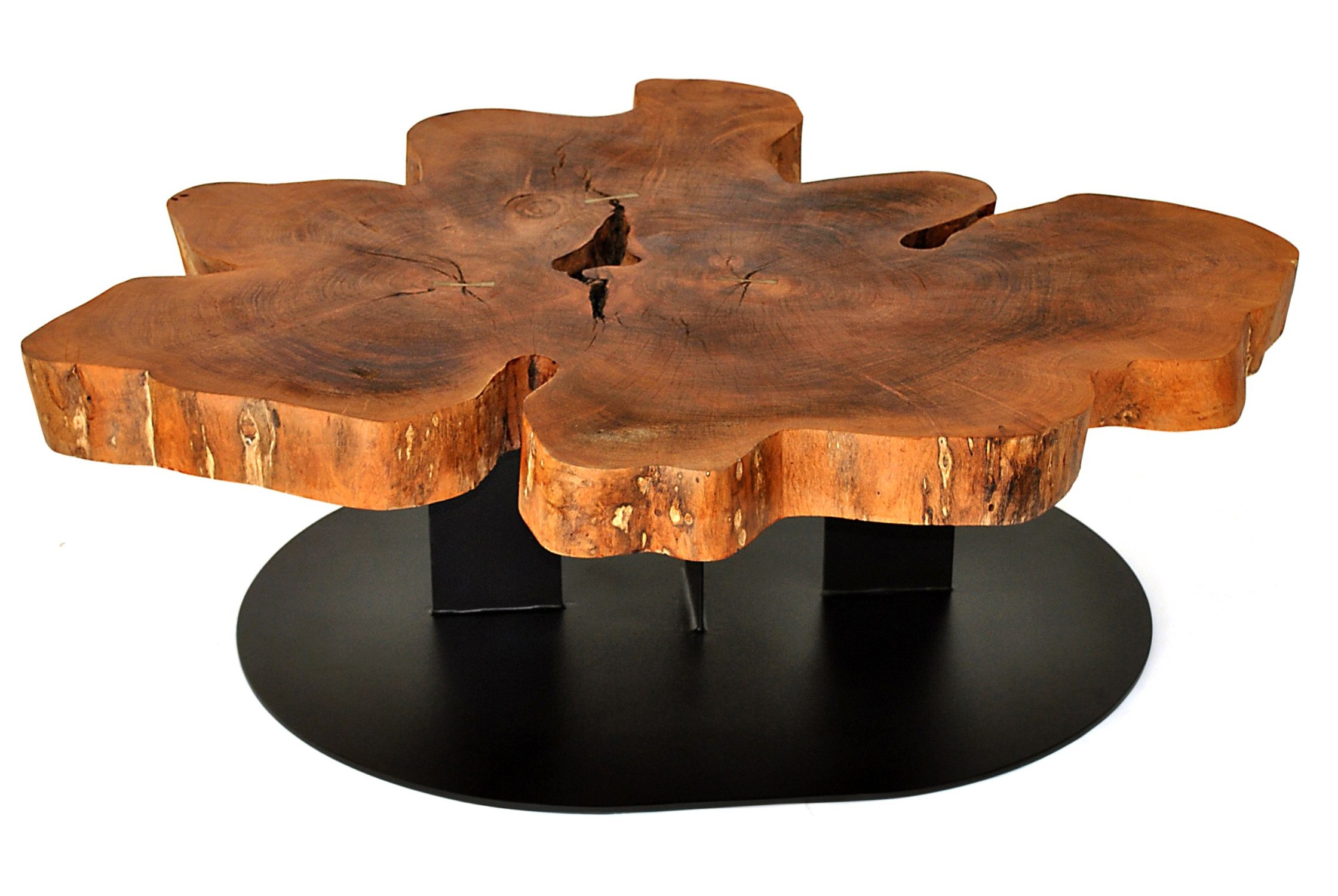 raw edge coffee table 17