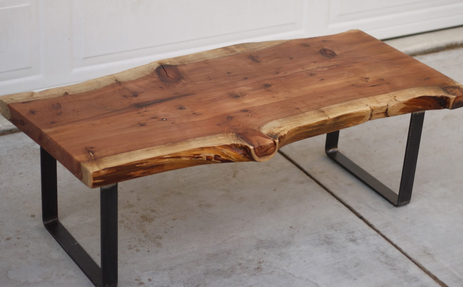 raw edge coffee table 18