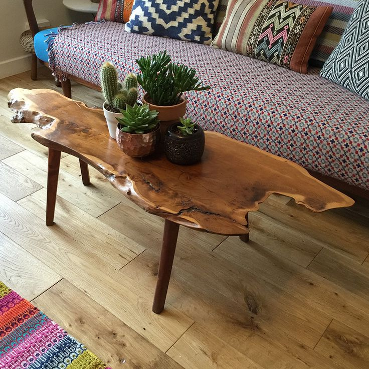 raw edge coffee table 19