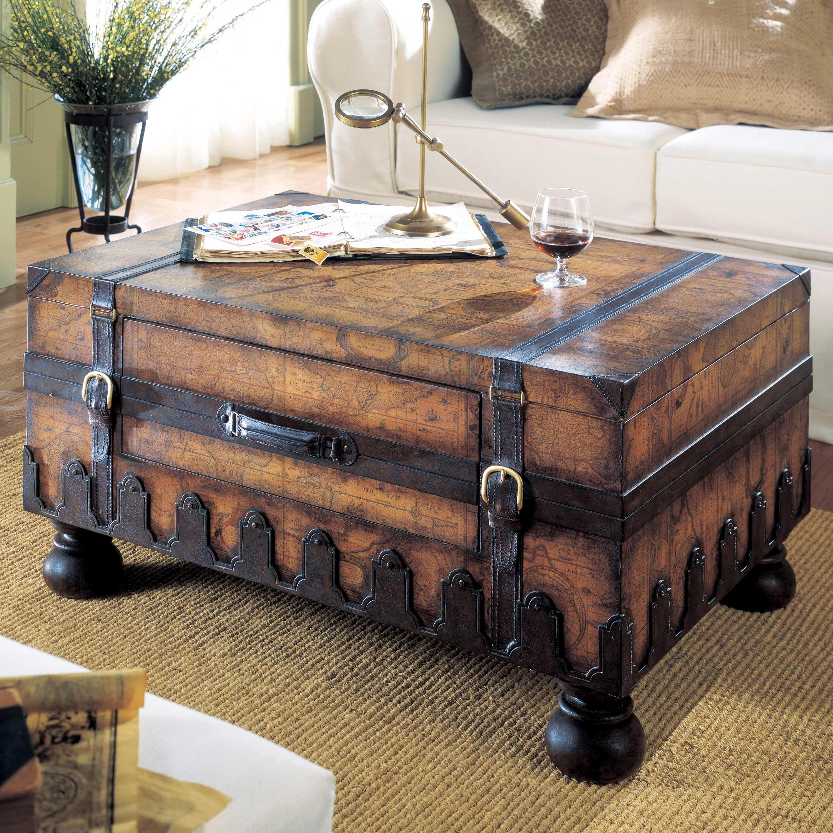 trunk coffee table target 18
