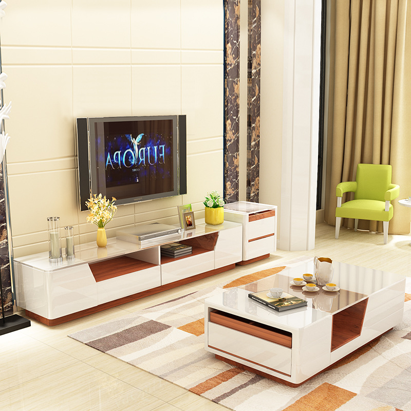 tv stand and coffee table set 03