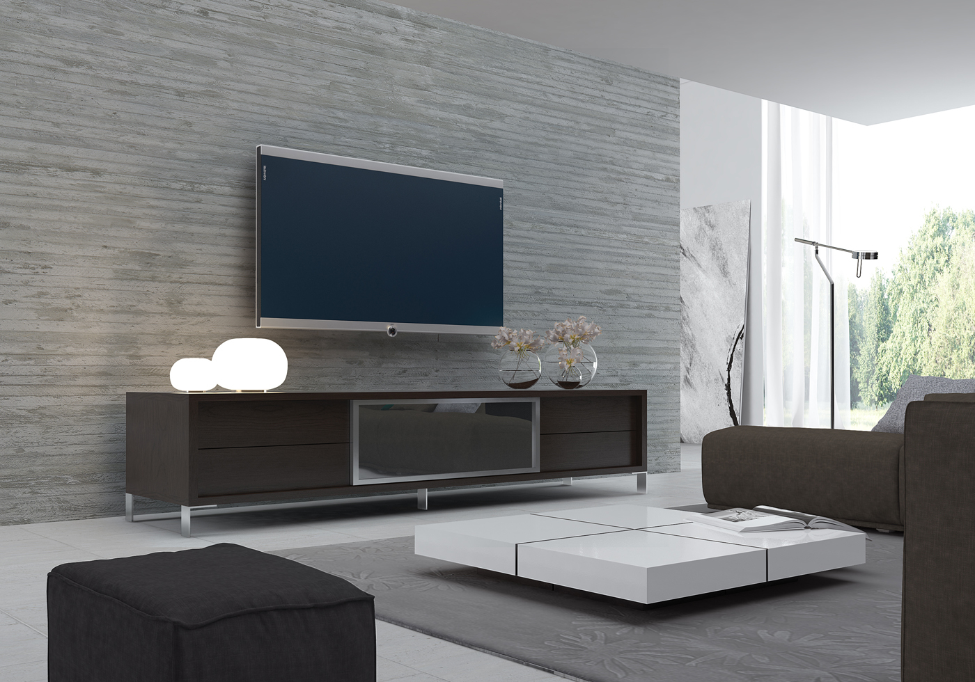 Tv Stand Designs For Living Room : Tv stand and coffee table set roy home design