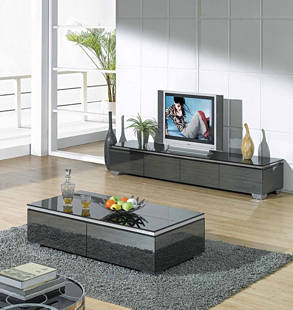 Tv stand and coffee table set roy home design Coffee table tv stand set