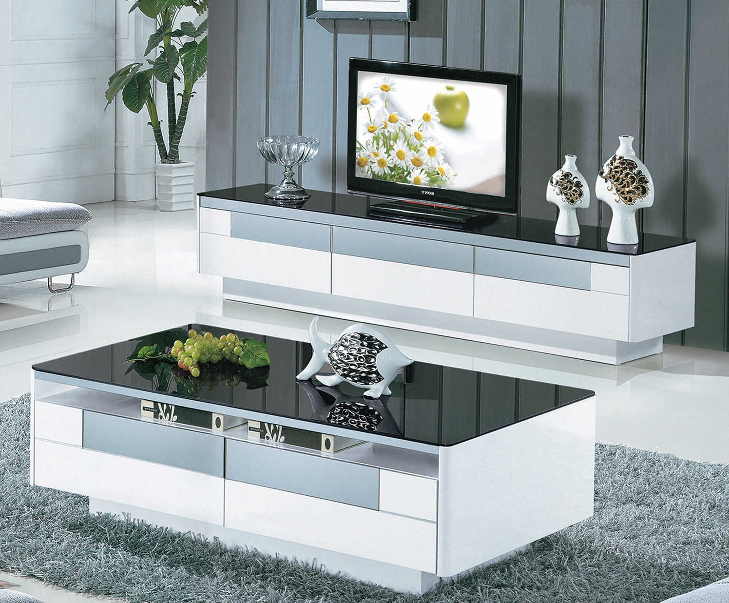 tv stand and coffee table set 26