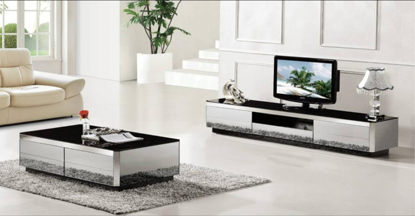 tv stand and coffee table set 28