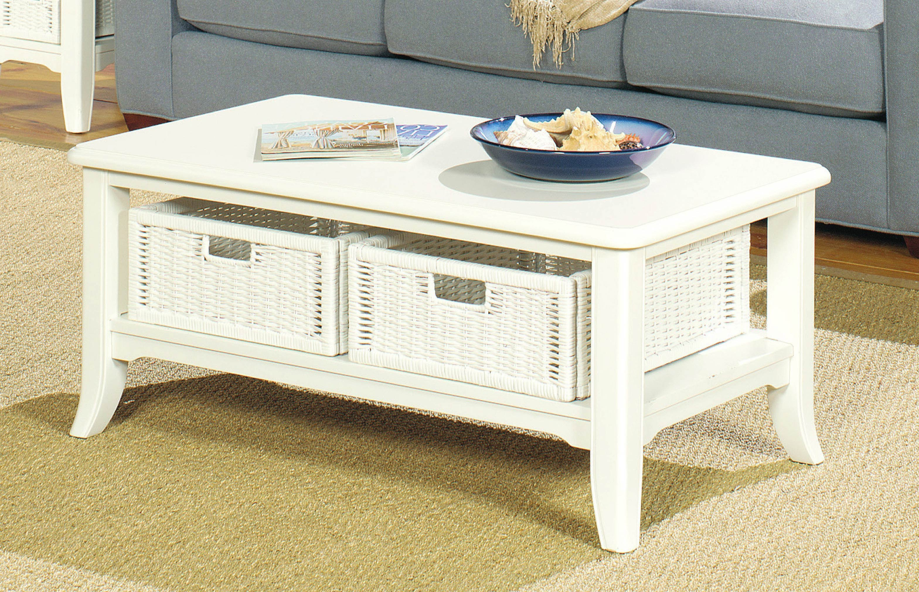 white inexpensive coffee tables with storage