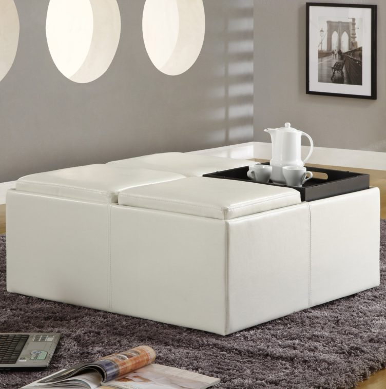 white leather ottoman coffee table 01