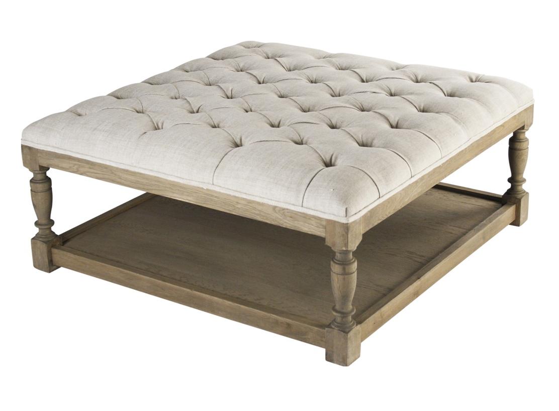 white leather ottoman coffee table 06