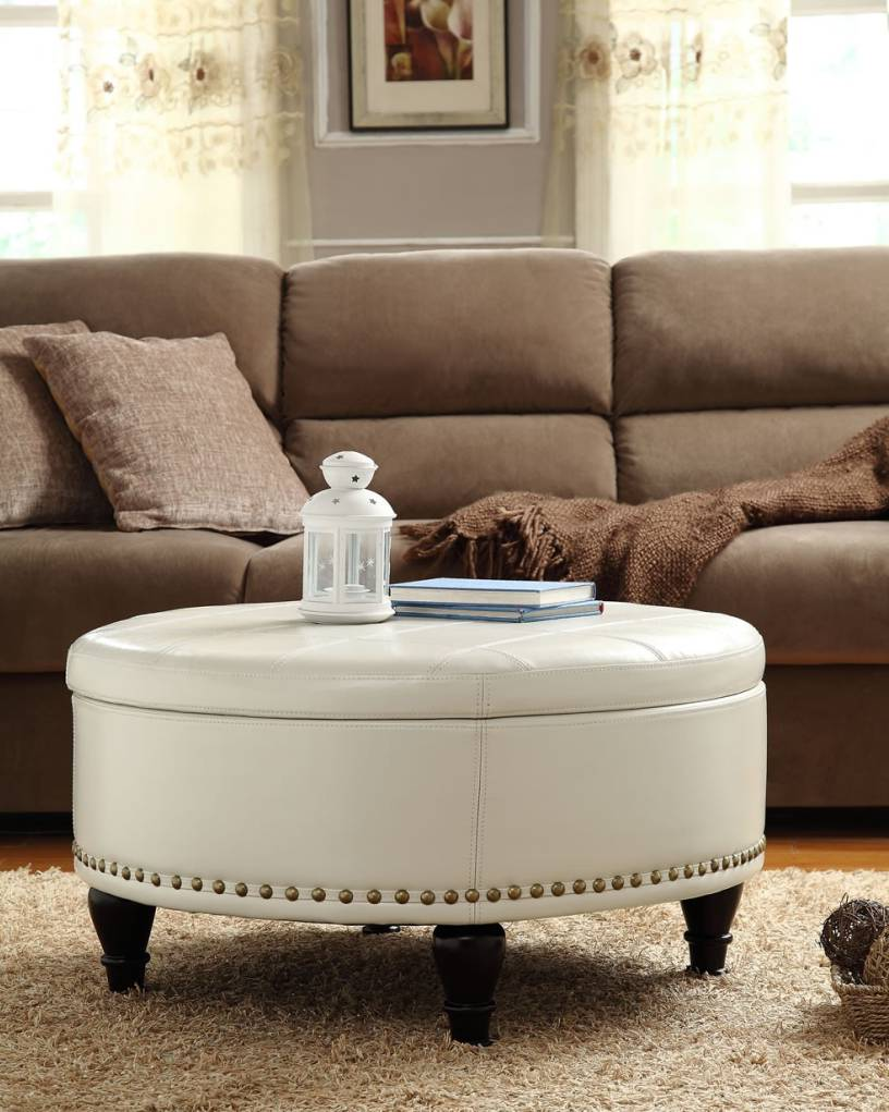 white leather ottoman coffee table 07