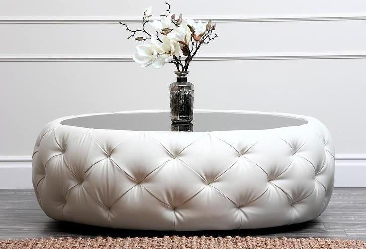 white leather ottoman coffee table 08