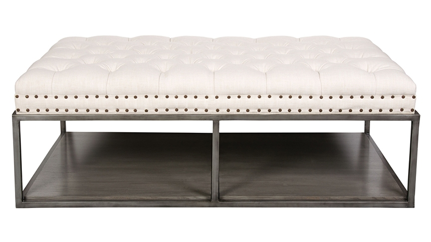 white leather ottoman coffee table 12