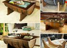 wooden barrel coffee table 03