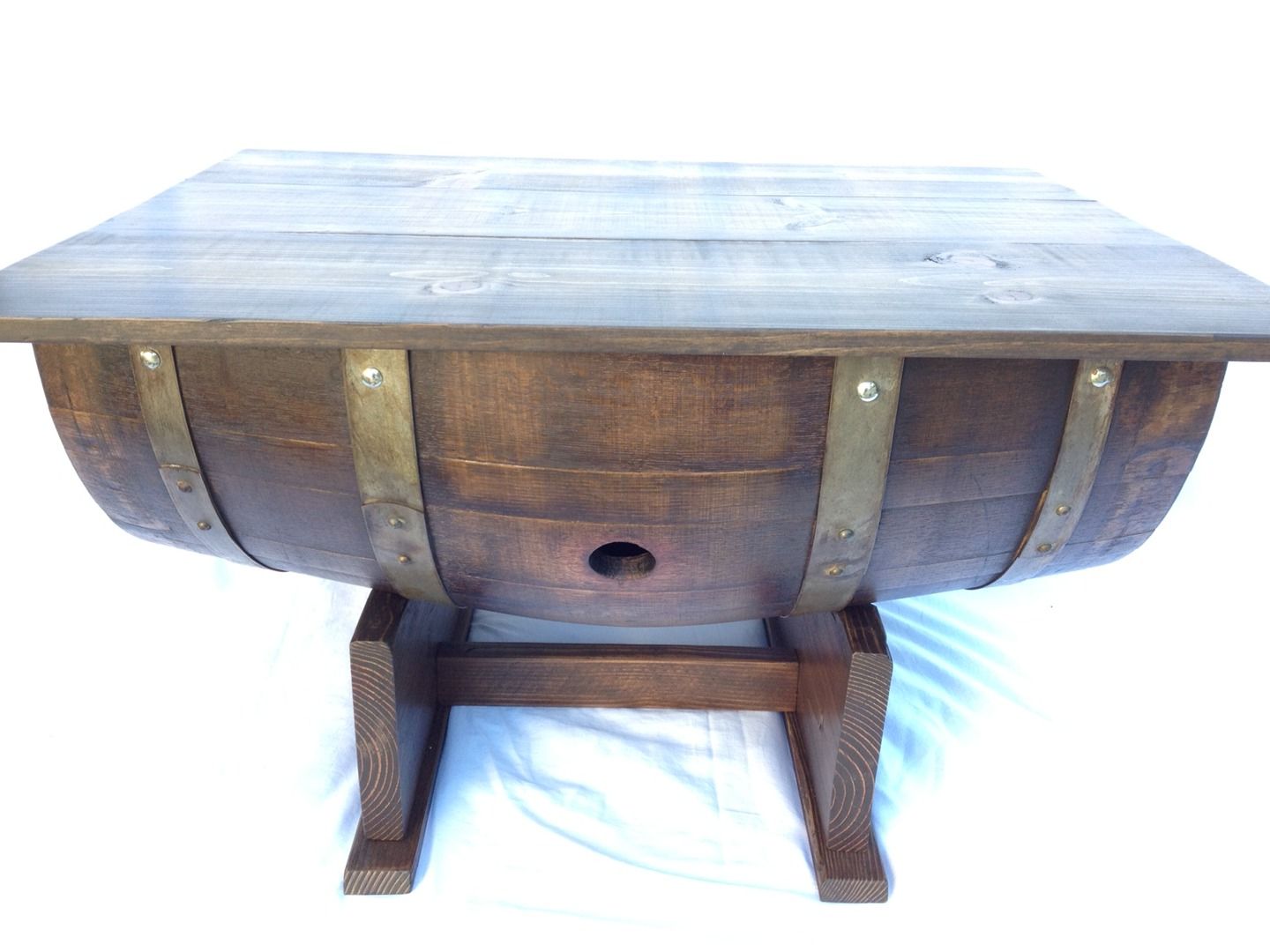 wooden barrel coffee table 04