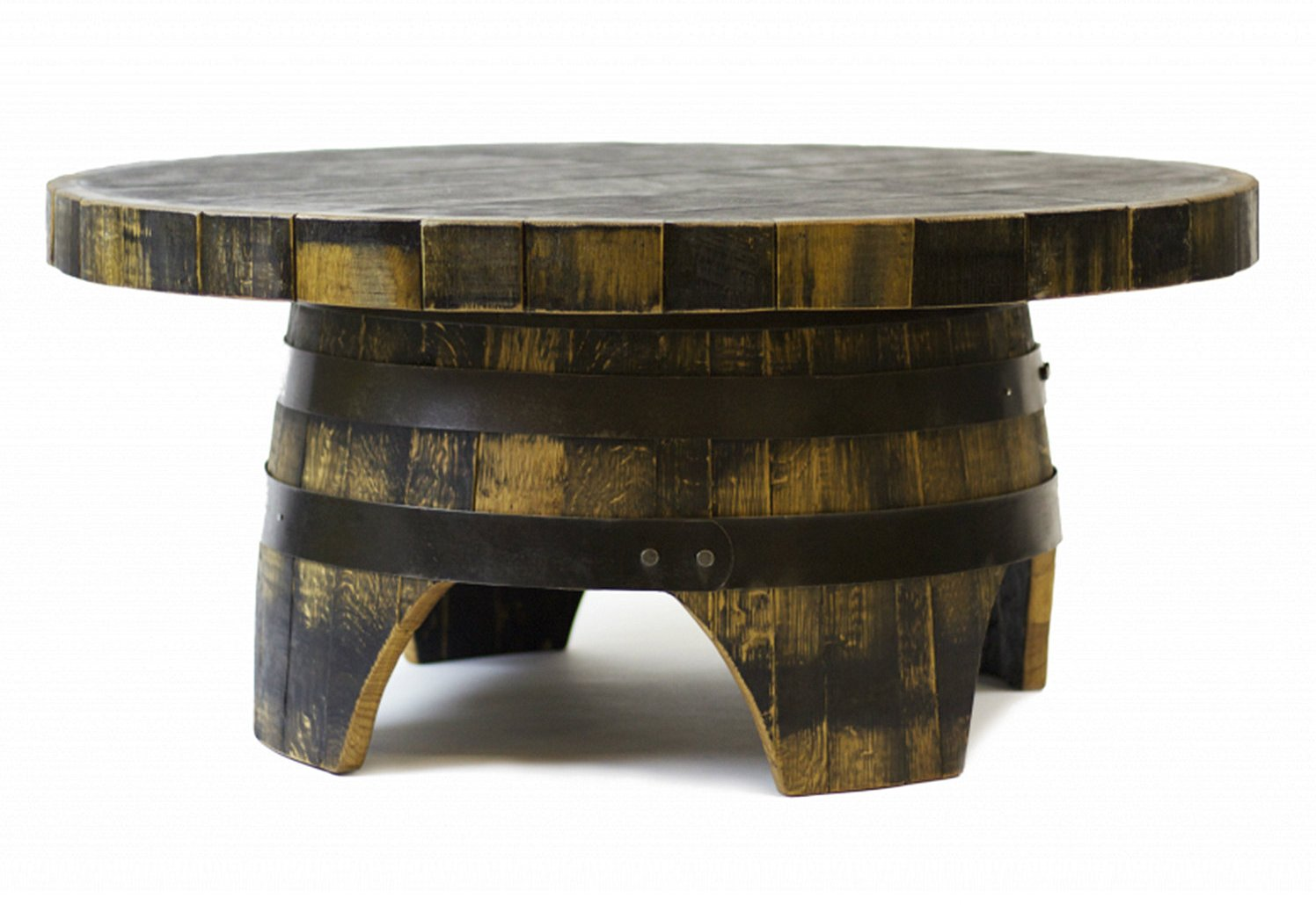 wooden barrel coffee table 08