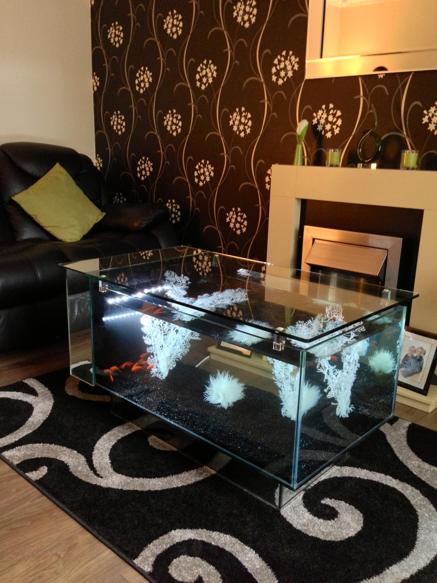 aquarium coffee table for sale 10