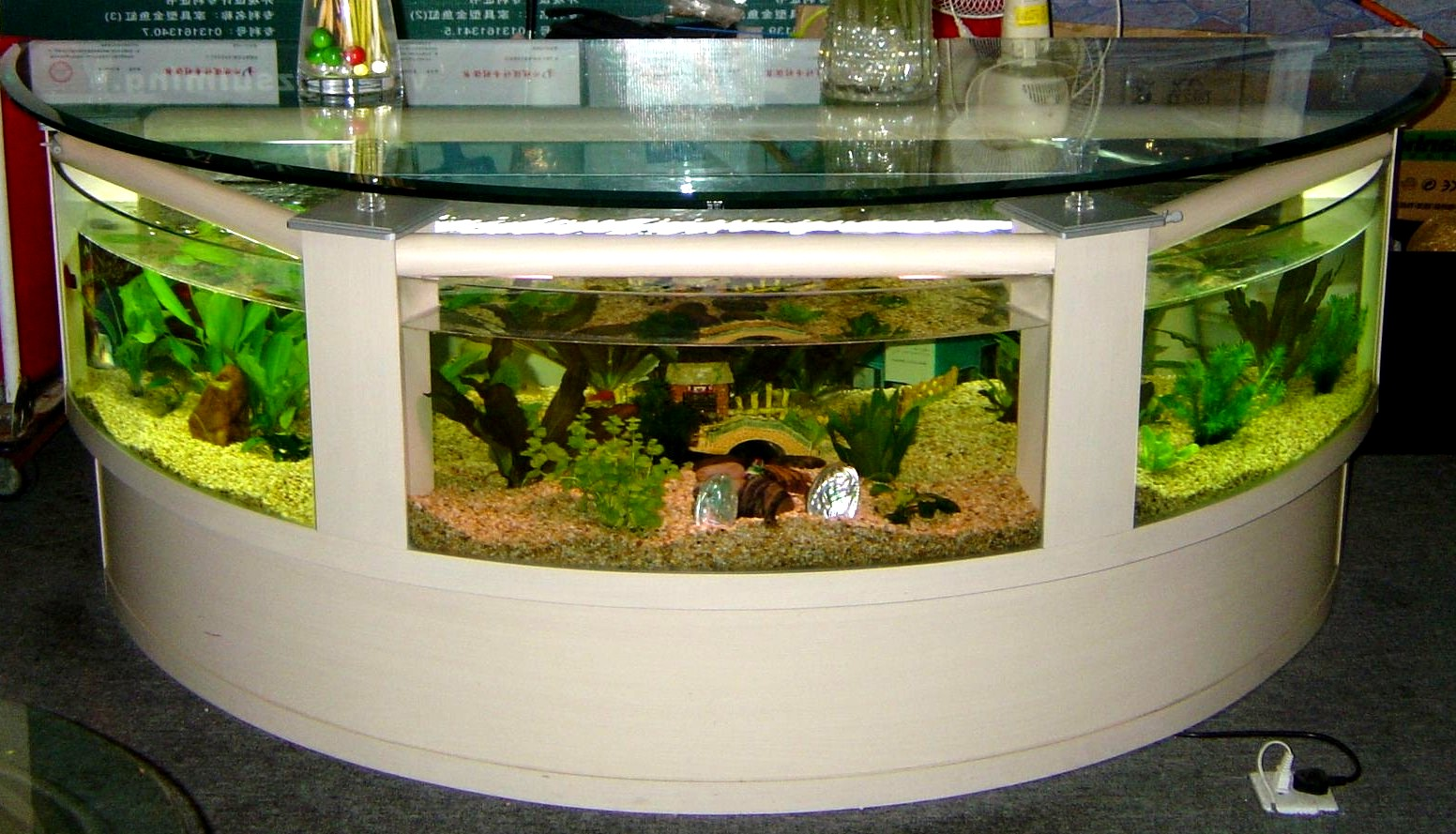 aquarium coffee table for sale 13