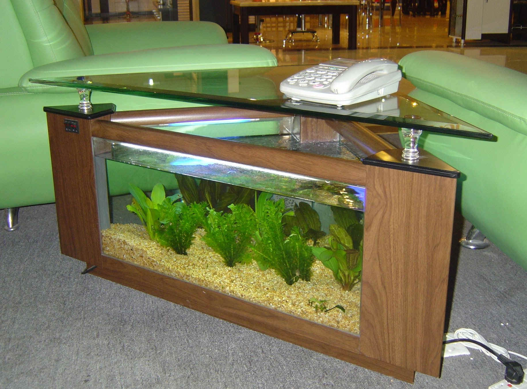 aquarium coffee table for sale 20