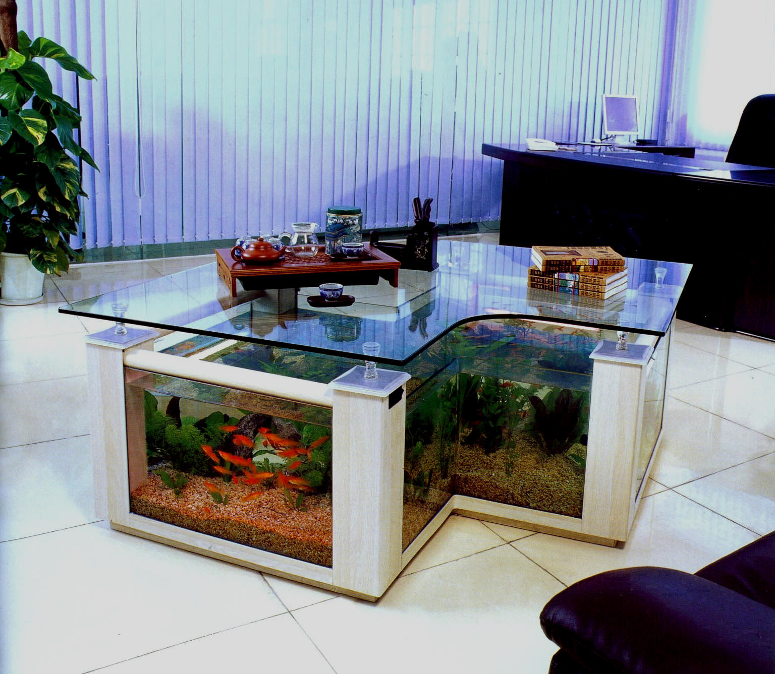 aquarium coffee table for sale 21