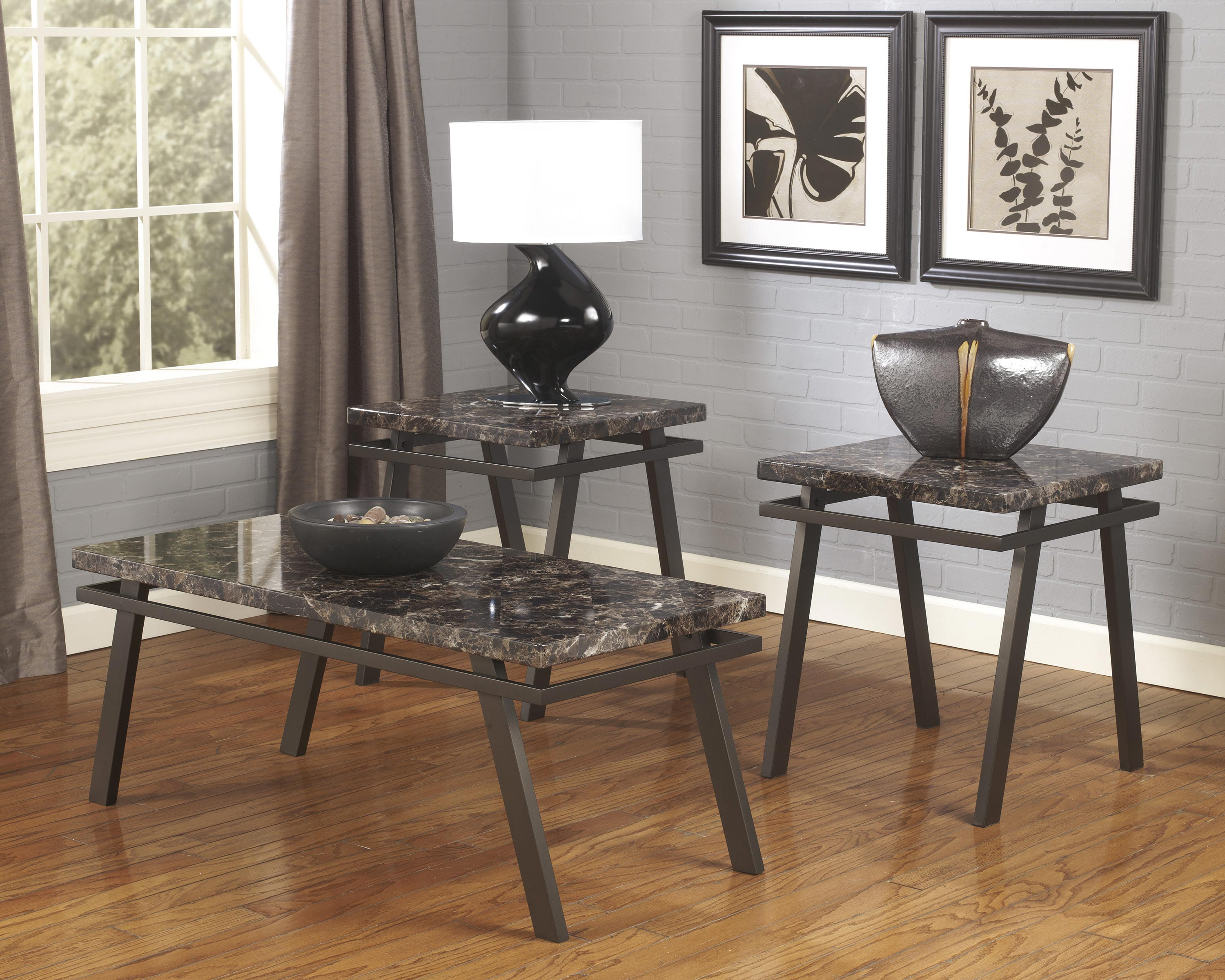 black coffee and end table sets 01