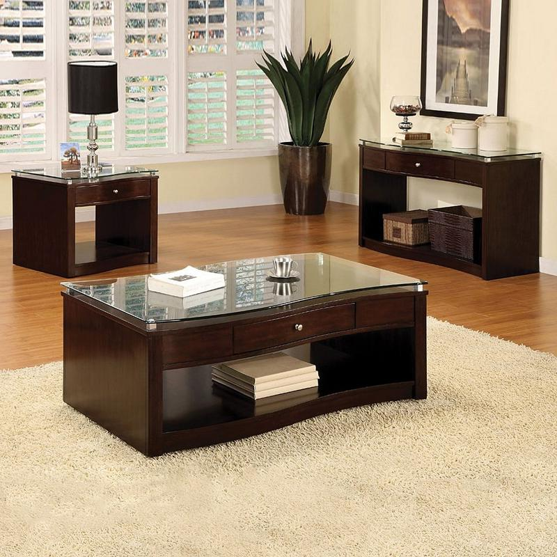 black coffee and end table sets 02