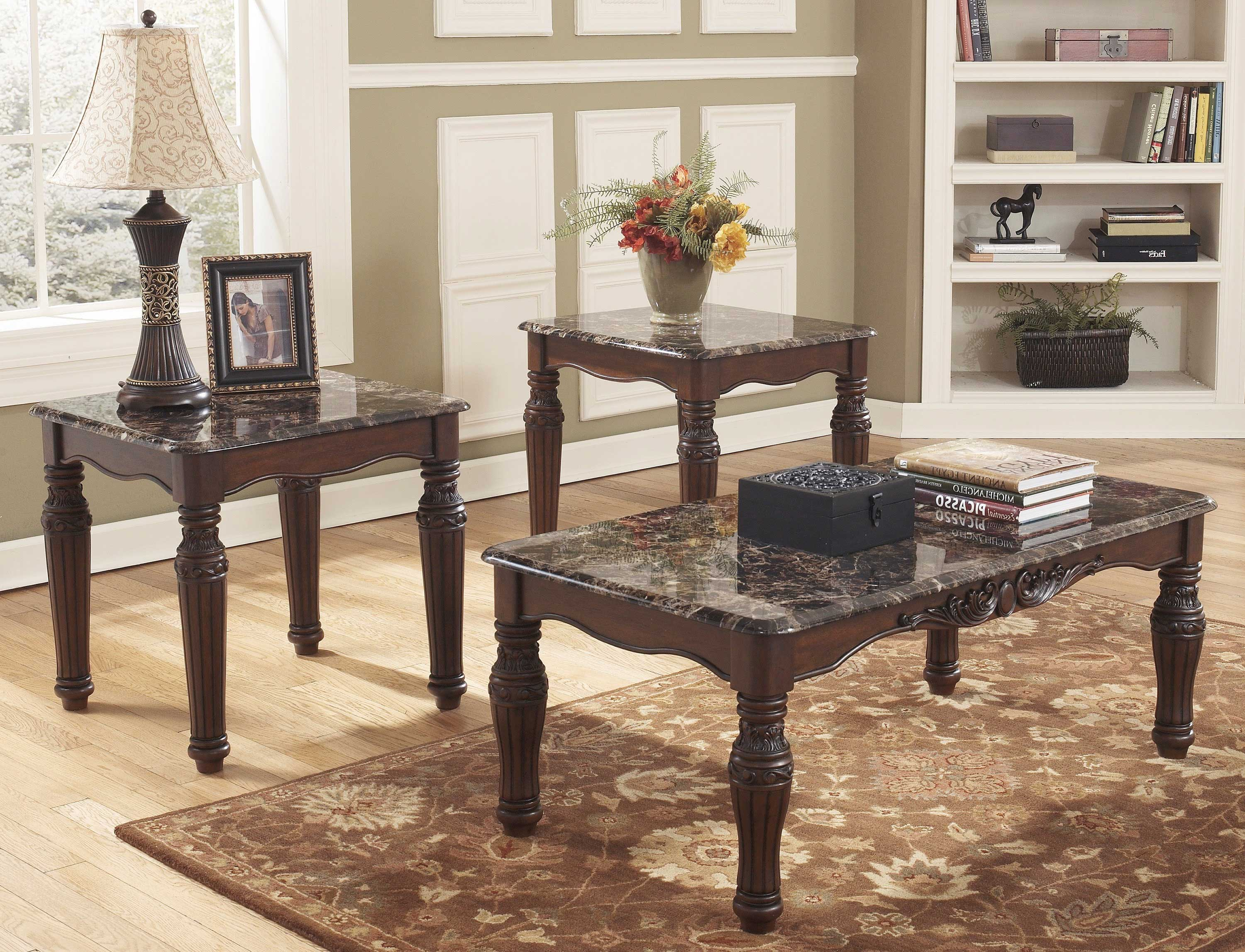 black coffee and end table sets 03