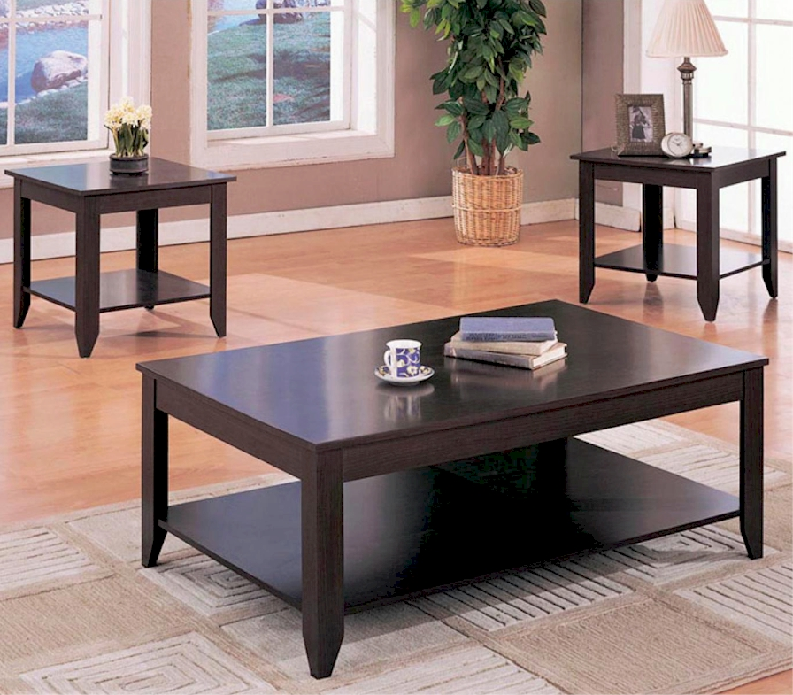 black coffee and end table sets 06