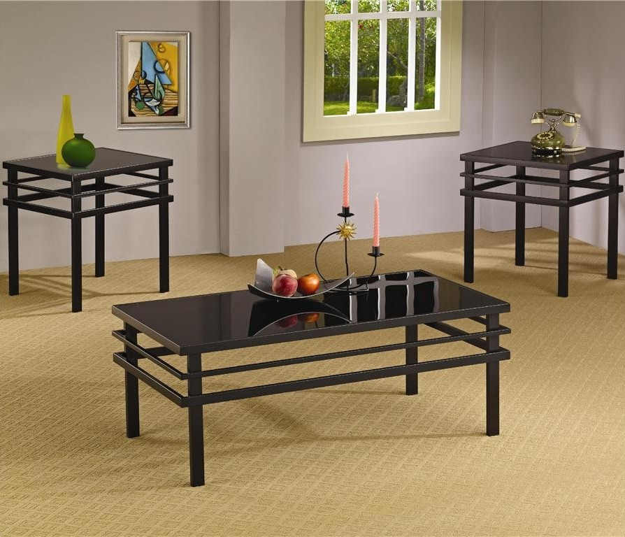 black coffee and end table sets 07