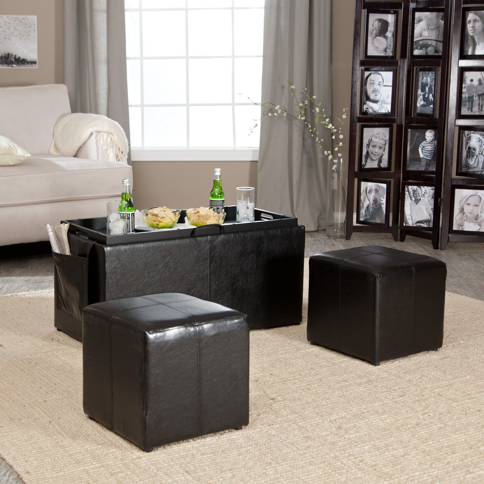 black coffee and end table sets 11