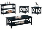 black coffee and end table sets 14