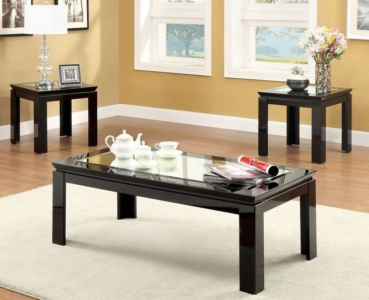 black coffee and end table sets 20