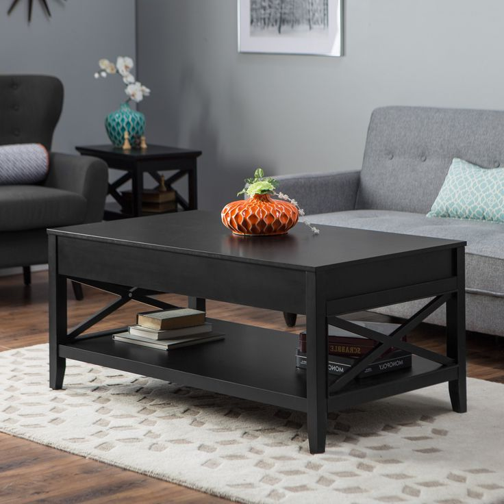 Coffee Table And Chair Sets: Black Coffee And End Table Sets Furniture