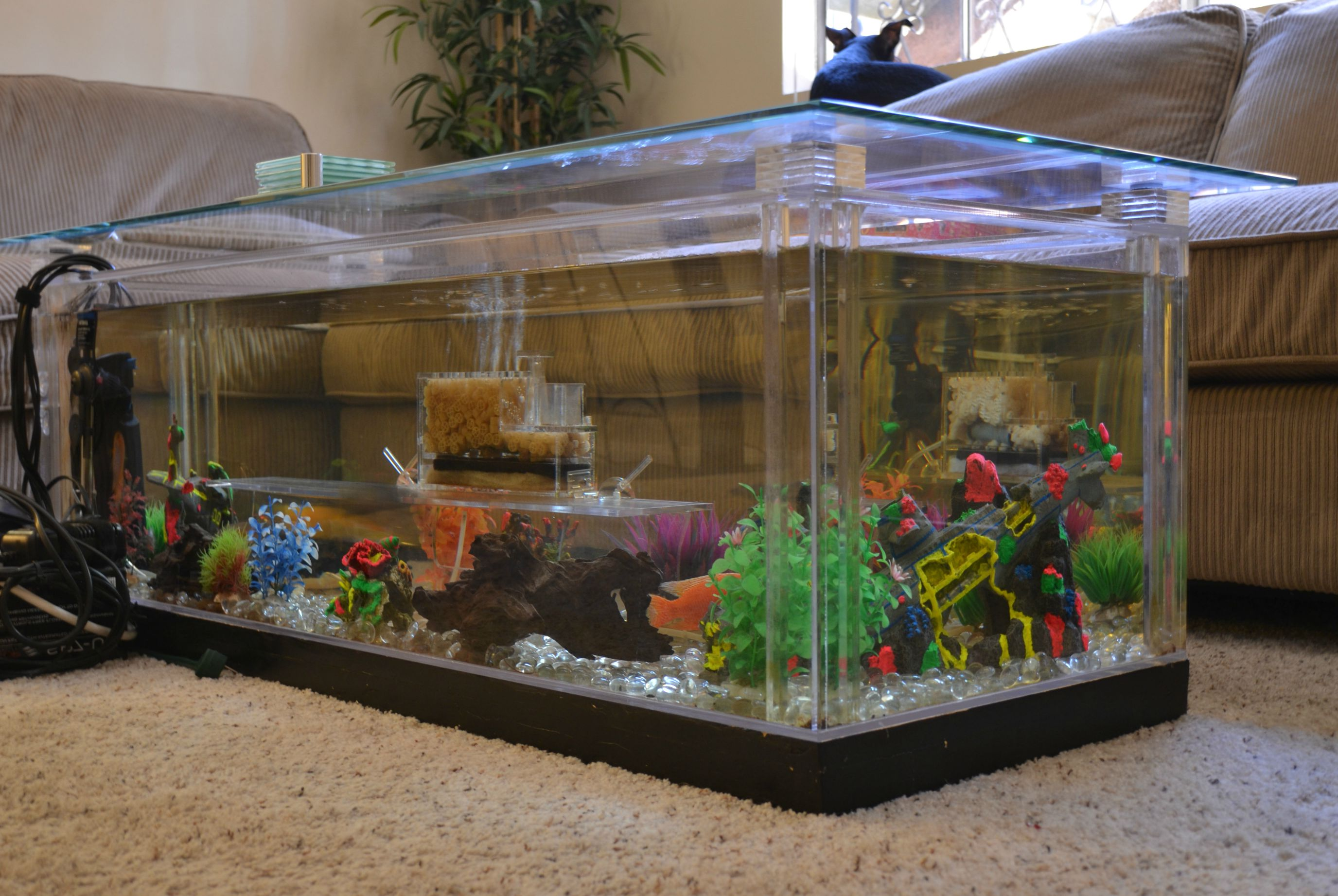 coffee table aquarium for sale 08