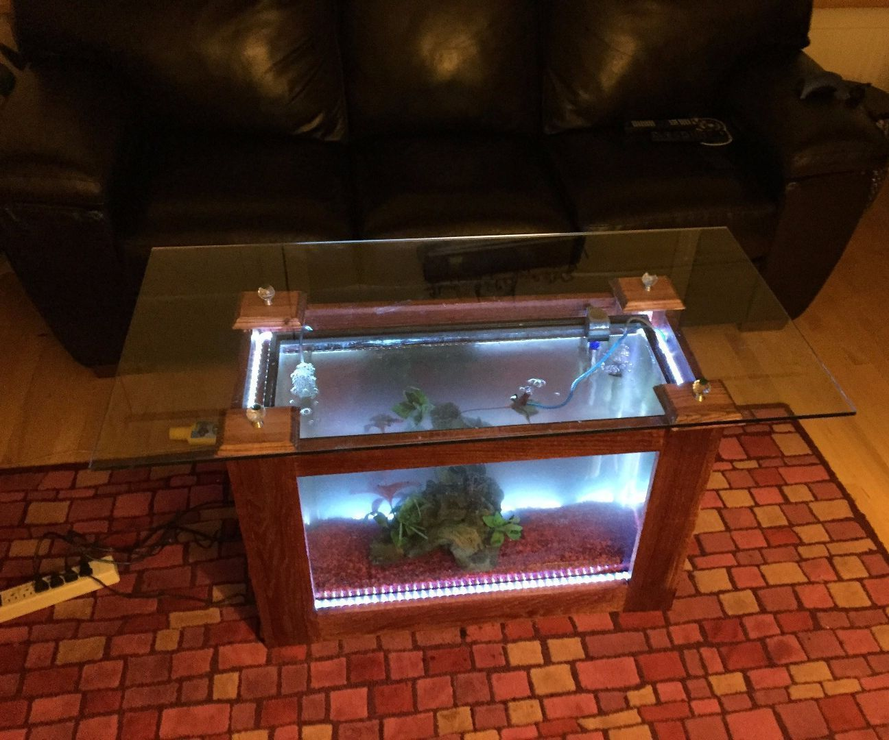 coffee table aquarium for sale 11