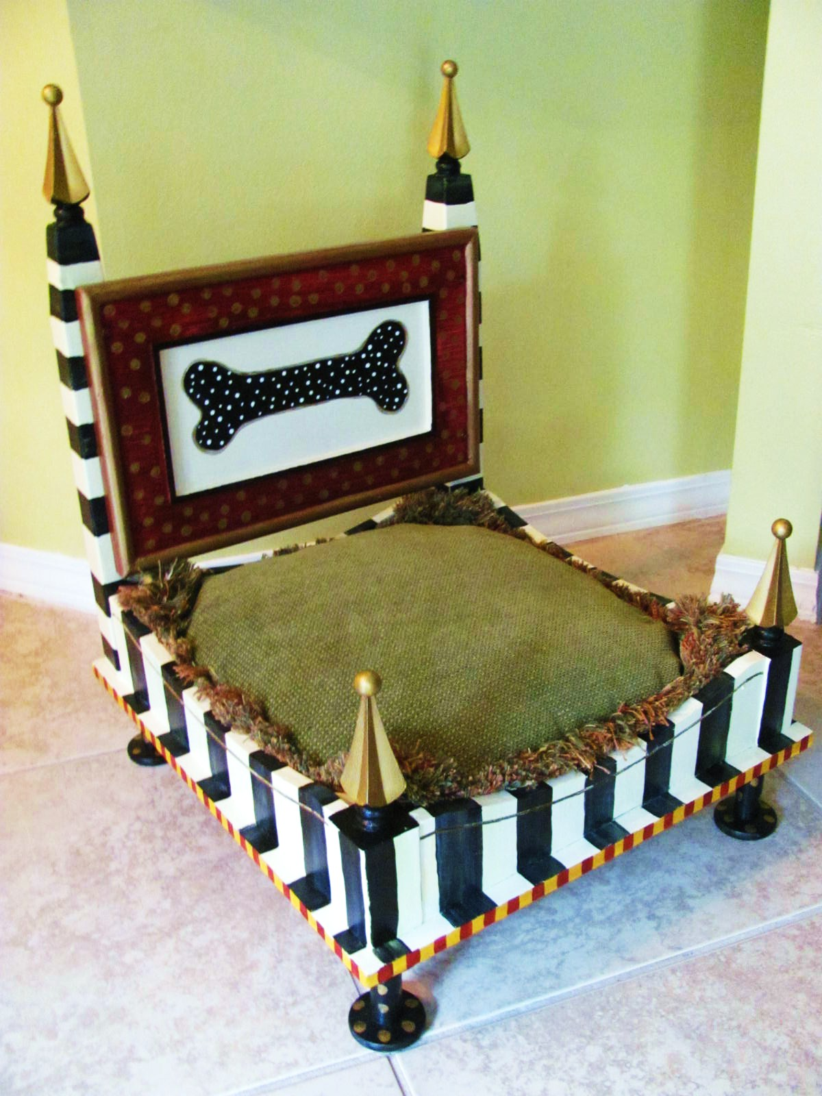 coffee table dog bed 01