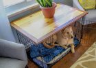 coffee table dog bed 05