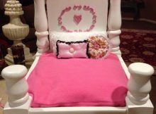 coffee table dog bed 10