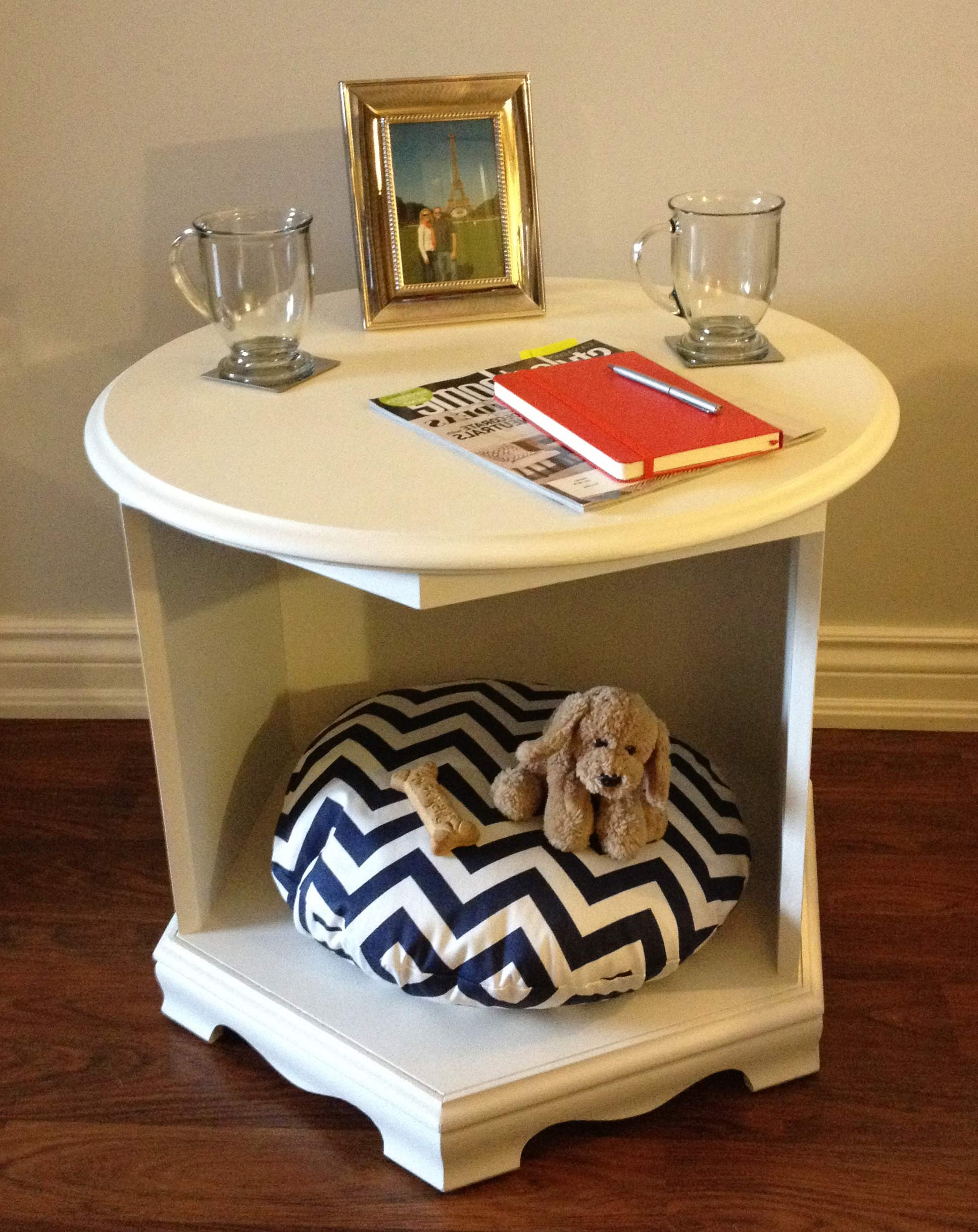 coffee table dog bed 16