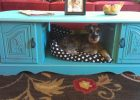coffee table dog bed 17